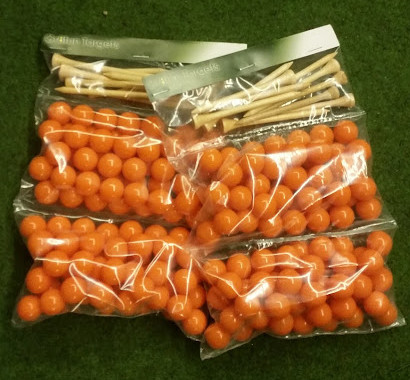 Paintballs 200 pack and tees