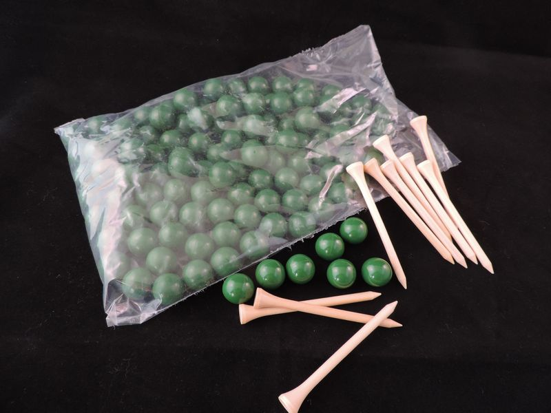 Paintballs 100 pack and tees