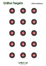 photograph relating to Printable Zeroing Targets identified as Cost-free Downloadable airgun goals : Airgun Ambitions via Gr8pleasurable