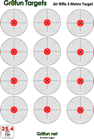 photograph about Printable Air Rifle Targets known as Absolutely free Downloadable airgun aims : Airgun Plans by means of Gr8pleasurable