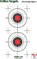 graphic regarding Printable Air Rifle Targets called Absolutely free Downloadable airgun objectives : Airgun Aims by way of Gr8exciting