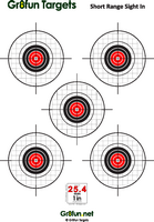 picture regarding Printable Air Rifle Targets identified as Cost-free Downloadable airgun ambitions : Airgun Goals by way of Gr8exciting