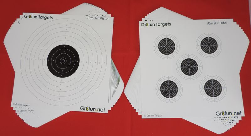 17cm Airgun Targets Airgun Targets By Gr8fun Quality Airgun