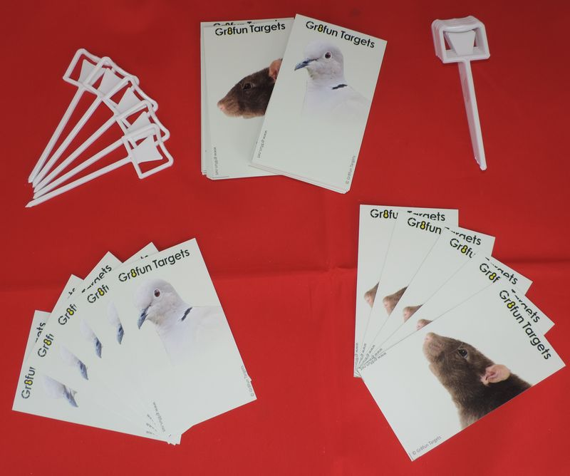 Pocket Plinkers - Rat And Collared Dove - 100 pack