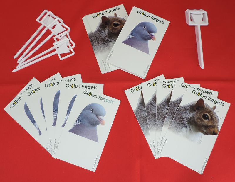 Pocket Plinkers - Woodpigeon and Squirrel - 100 pack